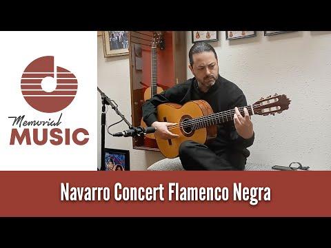 Demo: Navarro Concert Flamenco Negra / MemorialMusic.com