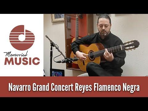 Demo: Navarro Grand Concert Reyes Flamenco Negra / MemorialMusic.com