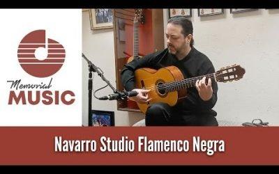 Demo: Navarro Studio Flamenco Negra / MemorialMusic.com