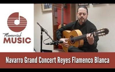 DEMO: Navarro Grand Concert Reyes Flamenco Blanca / Memorial Music Houston